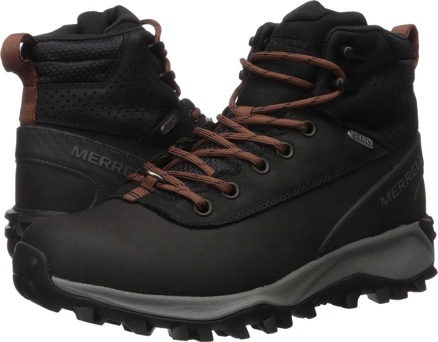 Merrell Thermo Kiruna Mid Shell Waterproof Black