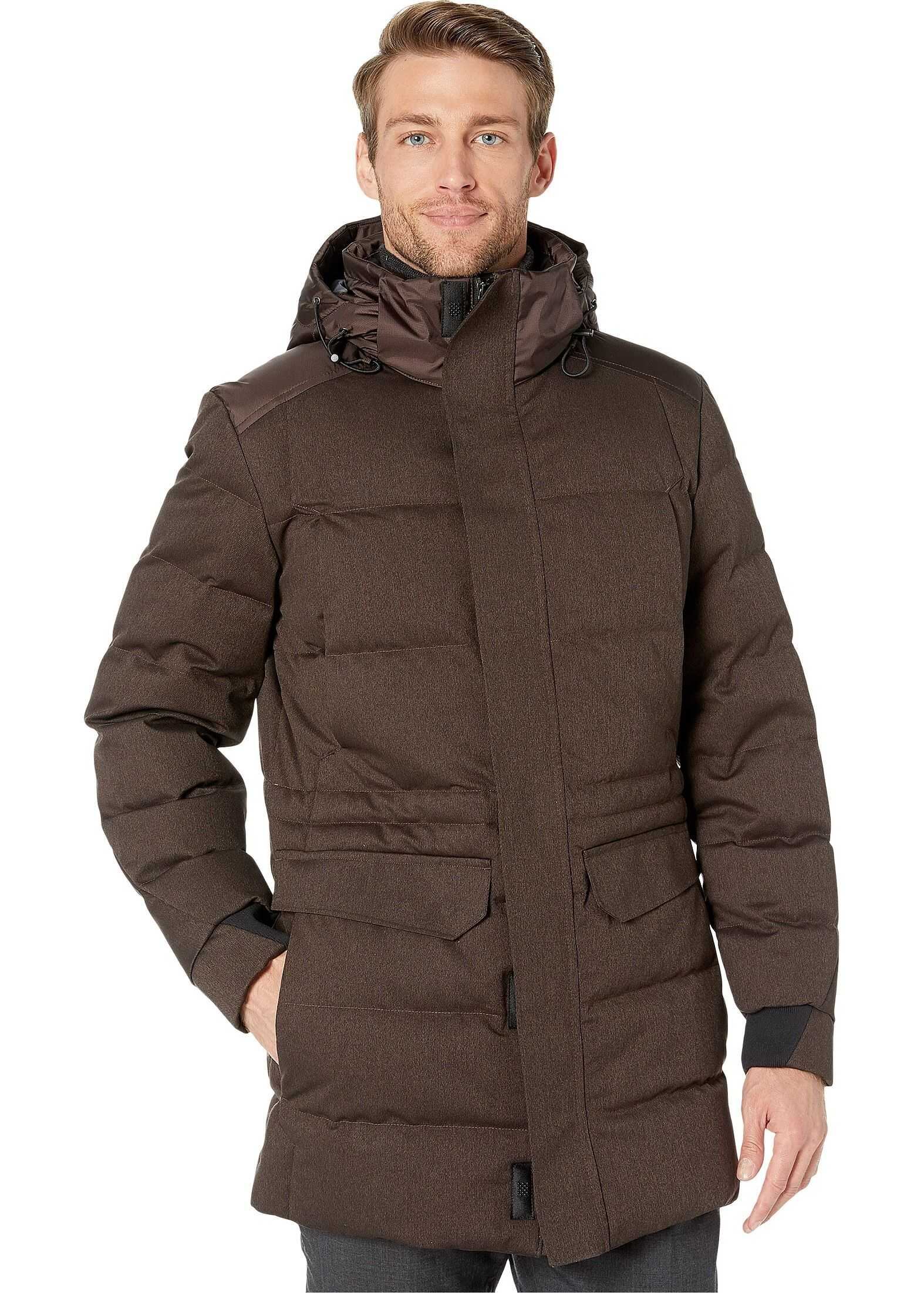 BOSS Hugo Boss Jeer4 Coat Medium Brown
