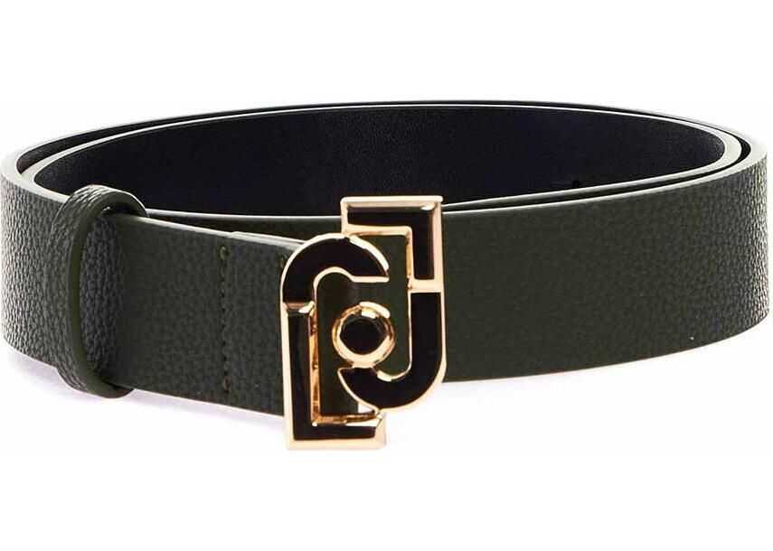 Liu Jo Faux leather belt Green