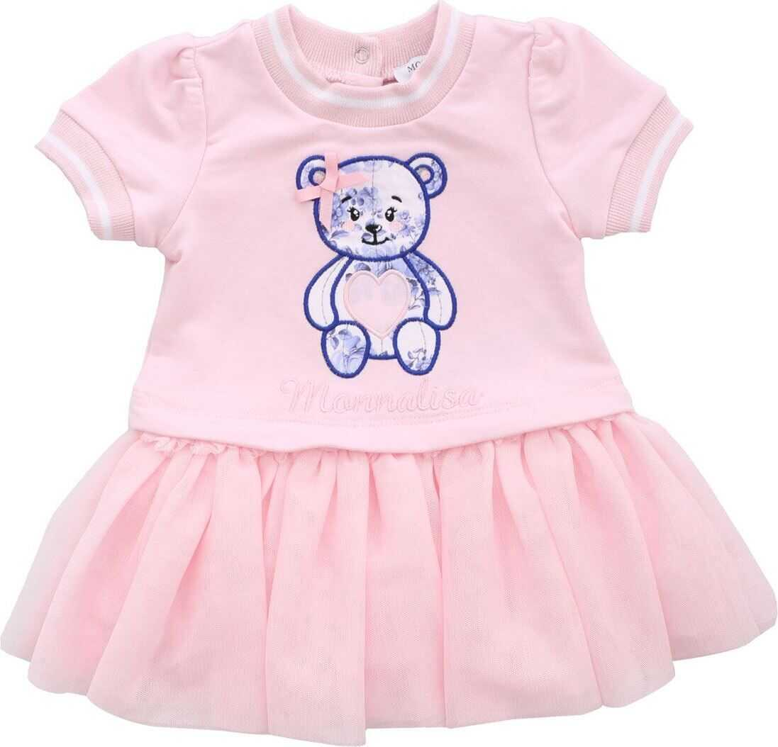 Pink Dress With Teddy Bear Patch thumbnail