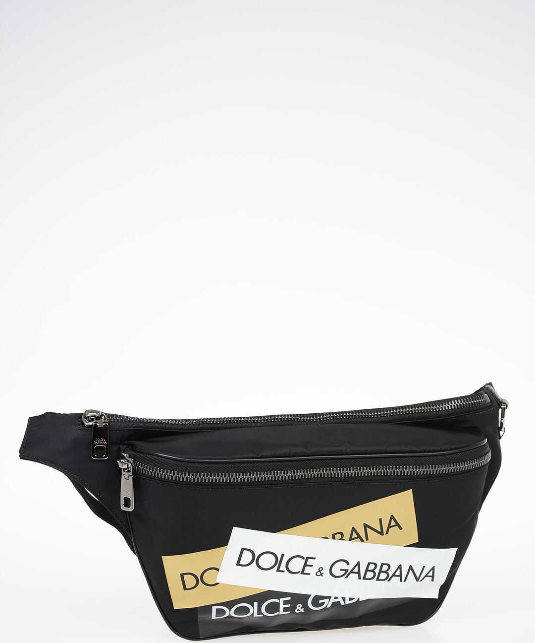 Dolce & Gabbana Fabric Beltbag BLACK