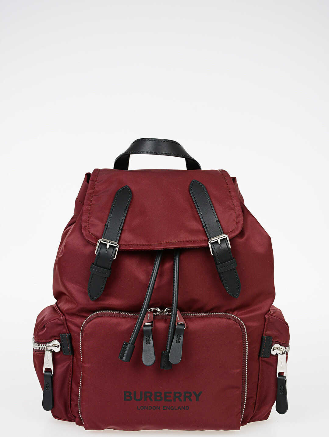 Burberry Fabric RUCKSACK Backpack RED