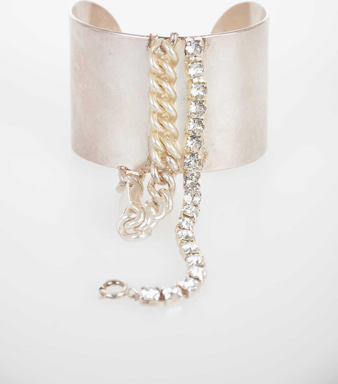 Maison Margiela MM11 Chain and Jewel Bracelet SILVER