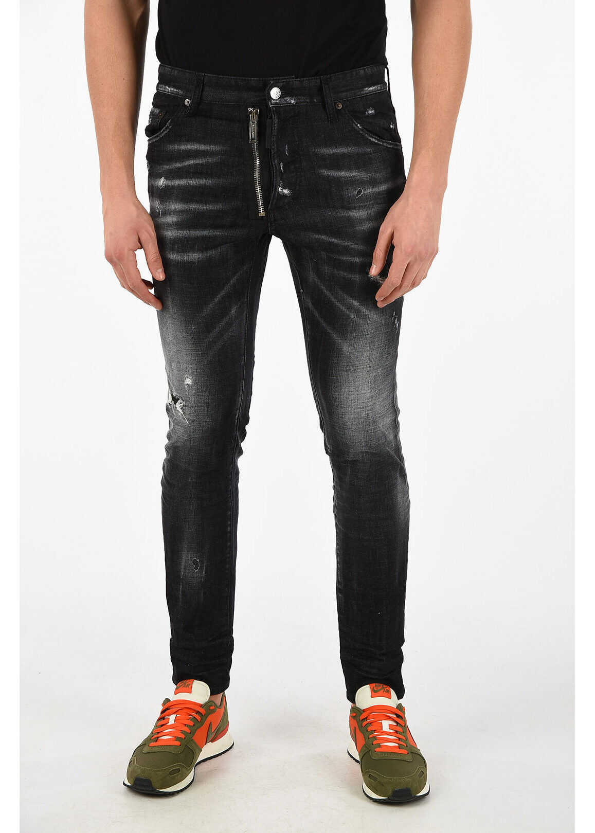 16cm Stone Washed Vintage Effect COOL GUY Jeans thumbnail
