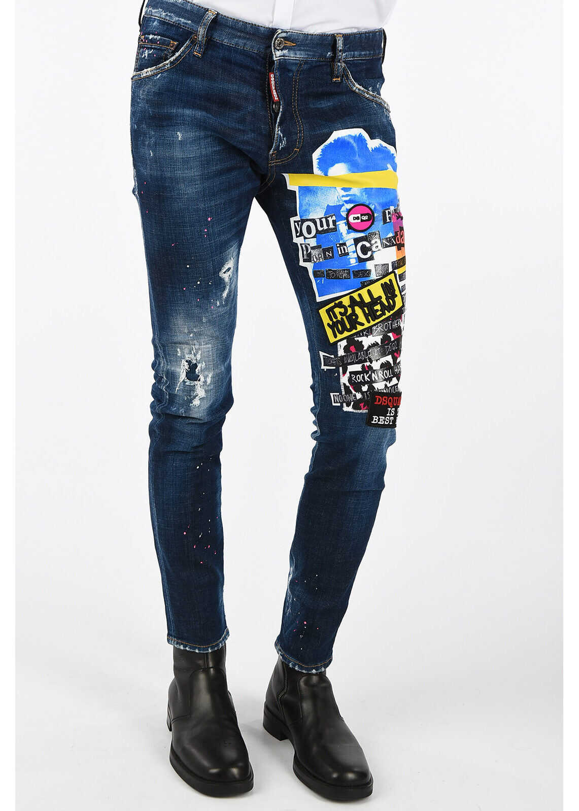16cm Embroidered COOL GUY Jeans thumbnail