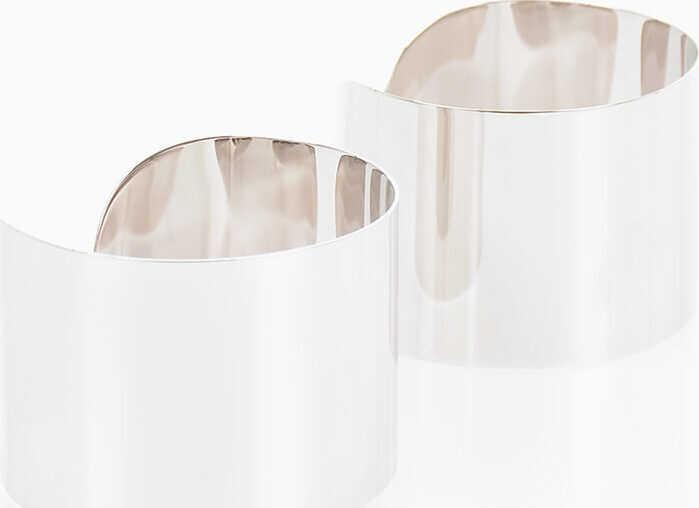 Maison Margiela MM11 Brass Rigid Arm Bracelet SILVER