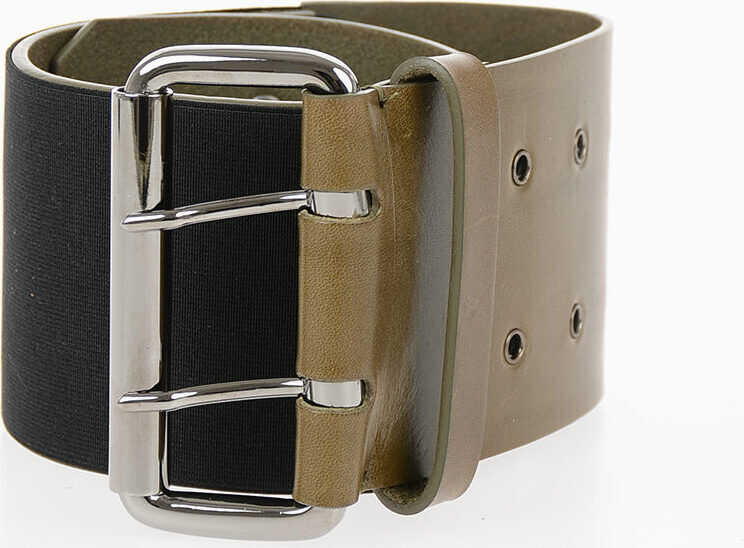MM11 80mm Leather Belt with Elastic