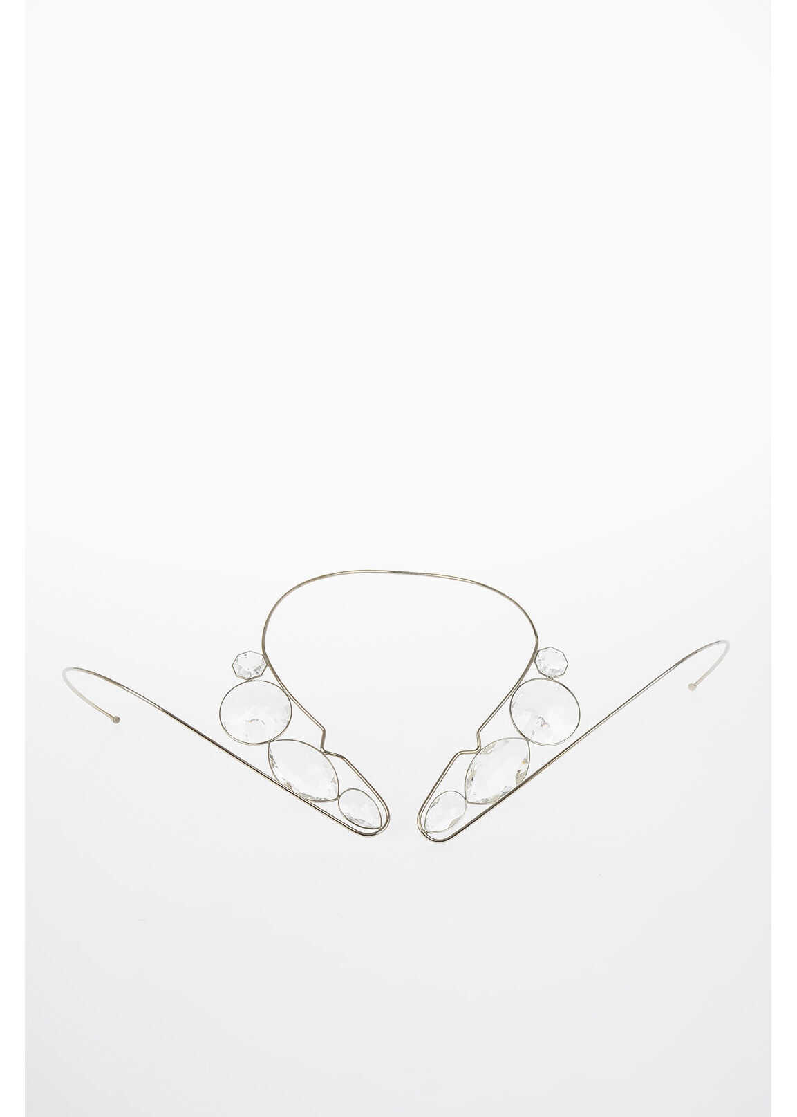 Maison Margiela MM11 Necklace with Crystal SILVER