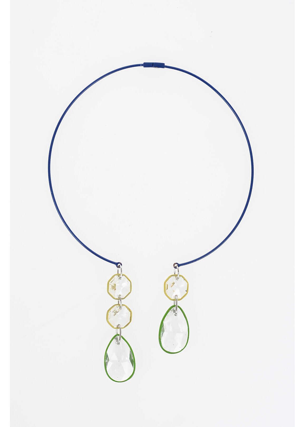 Poza Maison Margiela MM11 Necklace with Pendant BLUE