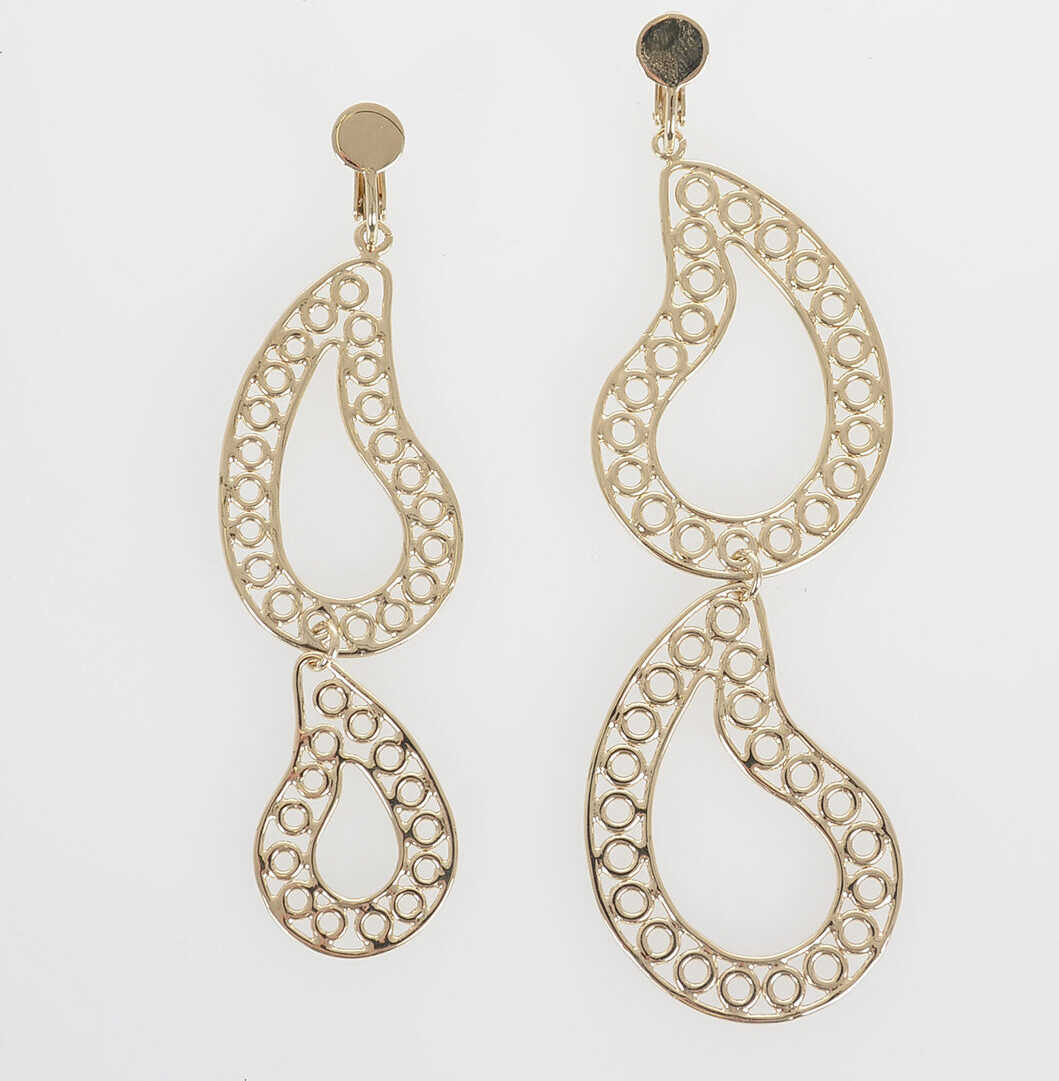 Maison Margiela MM11 Earings with Pendant GOLD
