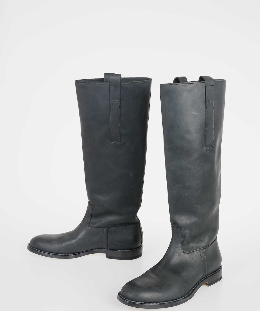 Maison Margiela MM22 Suede Leather Ankle Boots BLACK