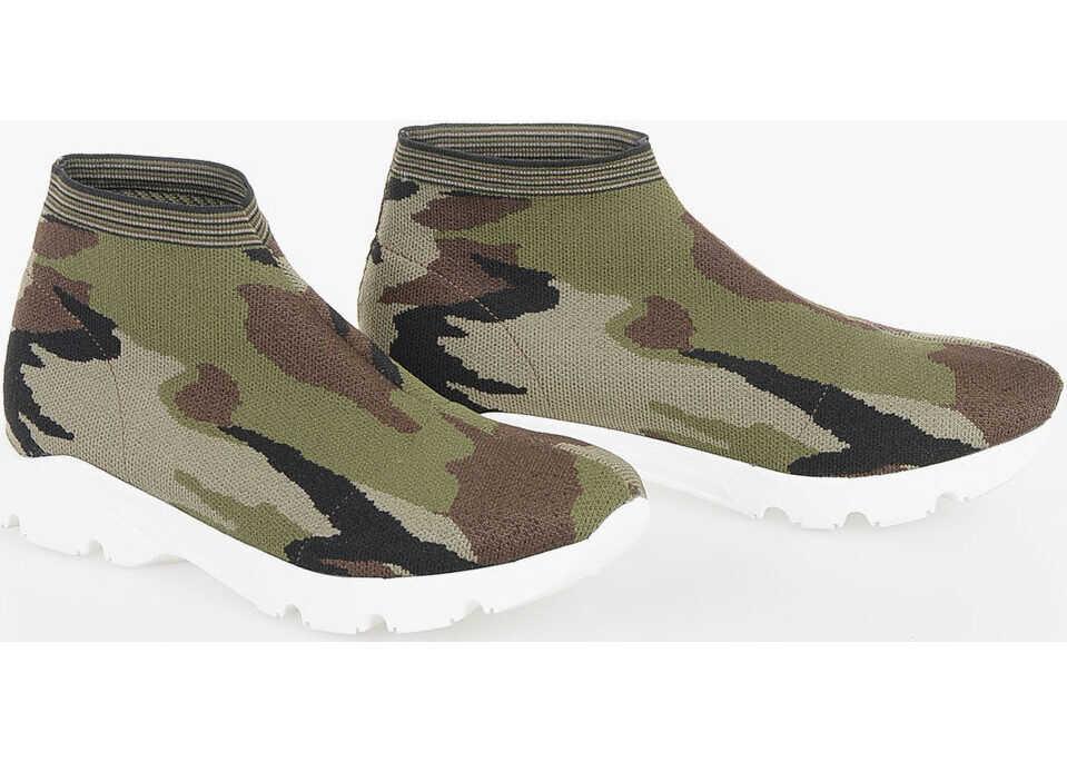 MM6 Camouflage Slip on thumbnail