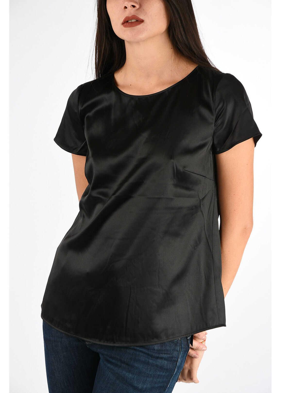 Armani COLLEZIONI Silk Blouse BLACK