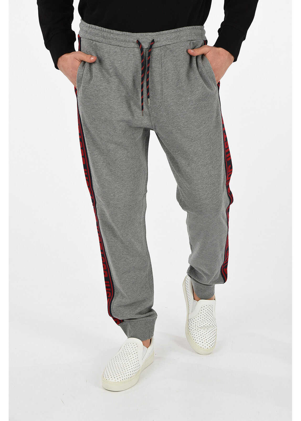Just Cavalli Jogger with Lateral Stripe GRAY
