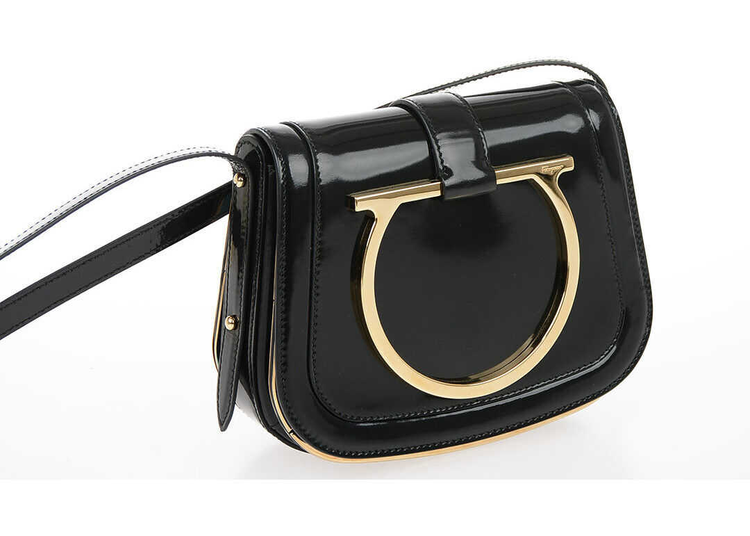 Brushed Leather SABINE Shoulder Bag thumbnail