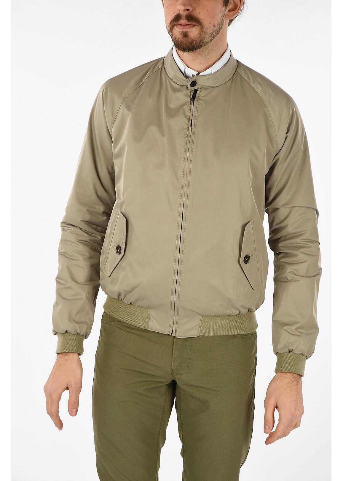 CORNELIANI CC COLLECTION reversible EMPOLI biker jacket BEIGE imagine