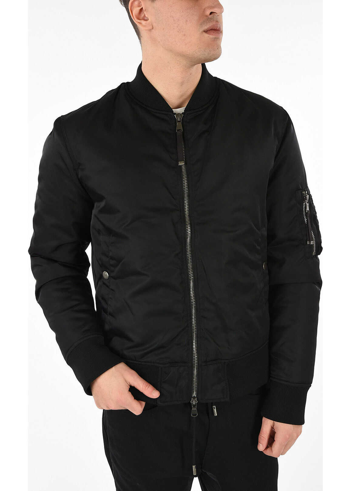 Diesel BLACK GOLD Nylon JEBOK Bomber BLACK