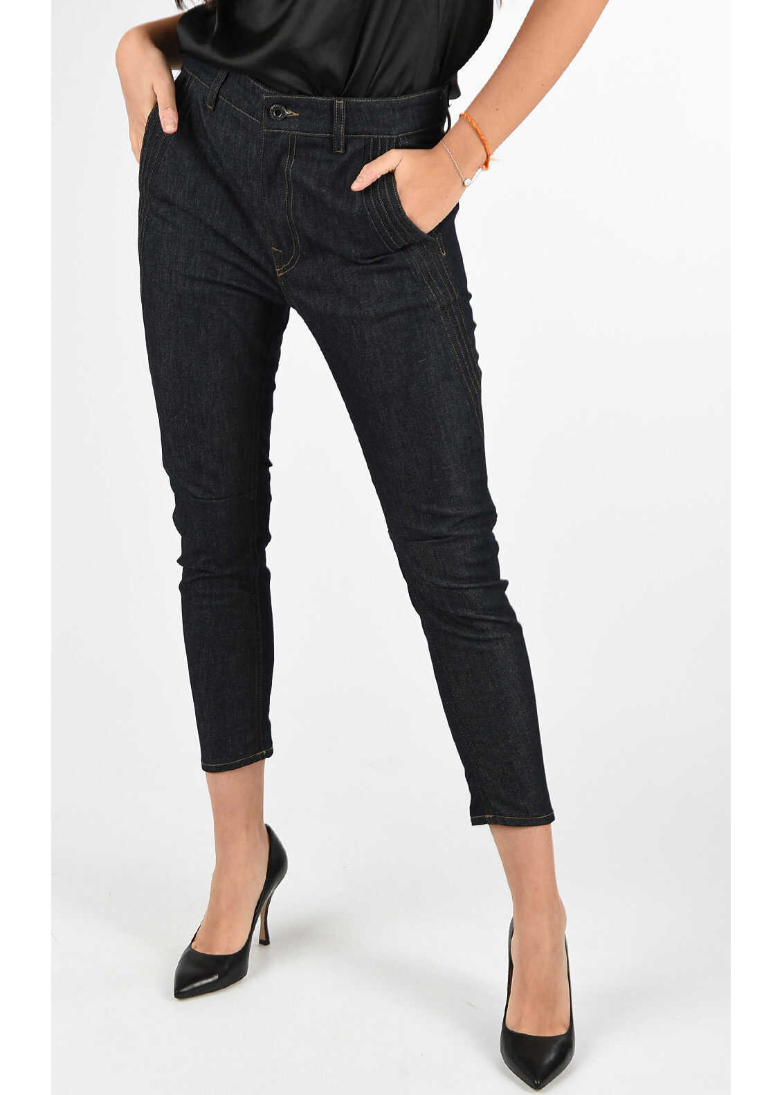 BLACK GOLD Capri TYPE-147PLEATED Jeans thumbnail