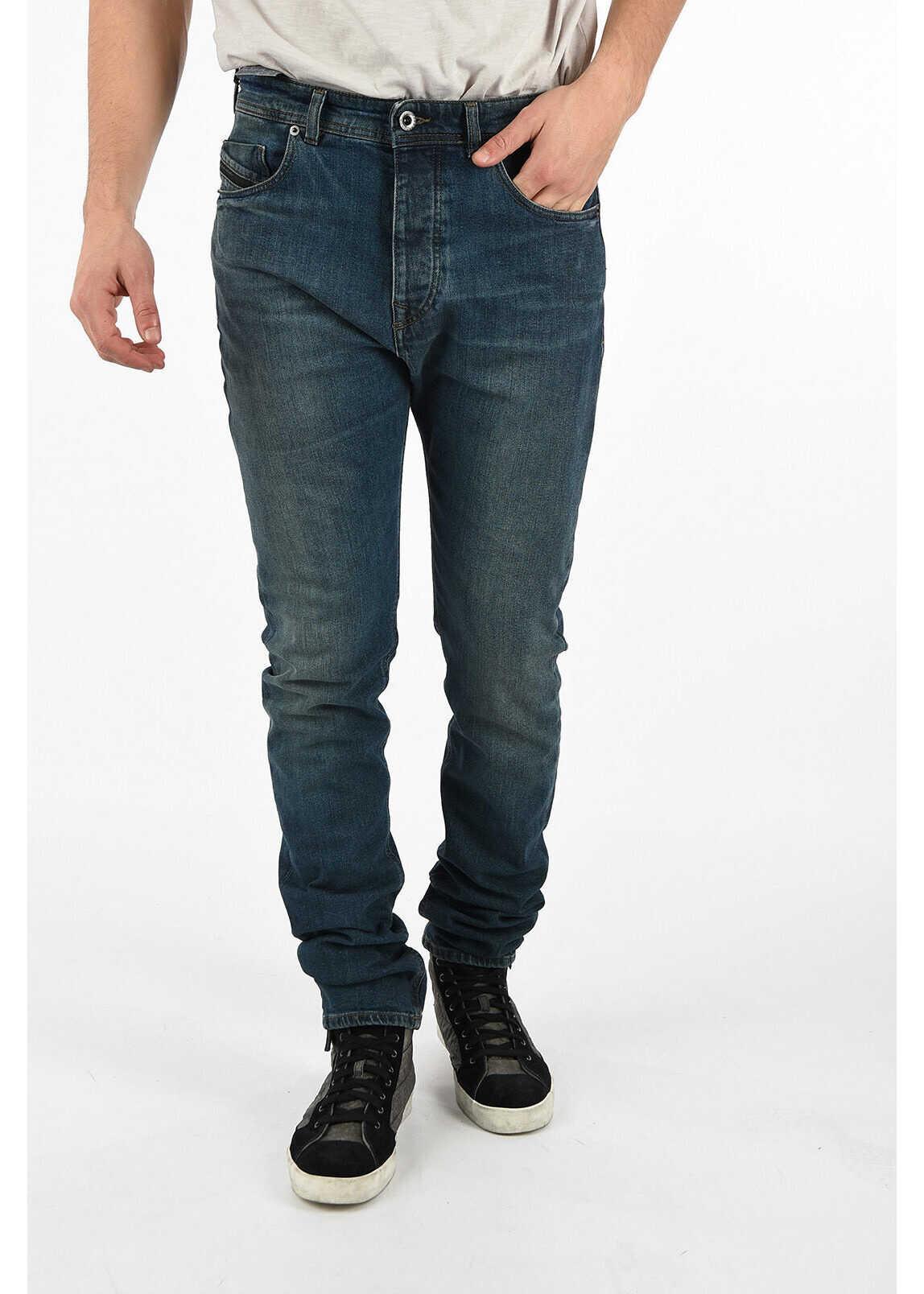 Diesel BLACK GOLD 17cm Regular fit TYPE-2830 Jeans BLUE