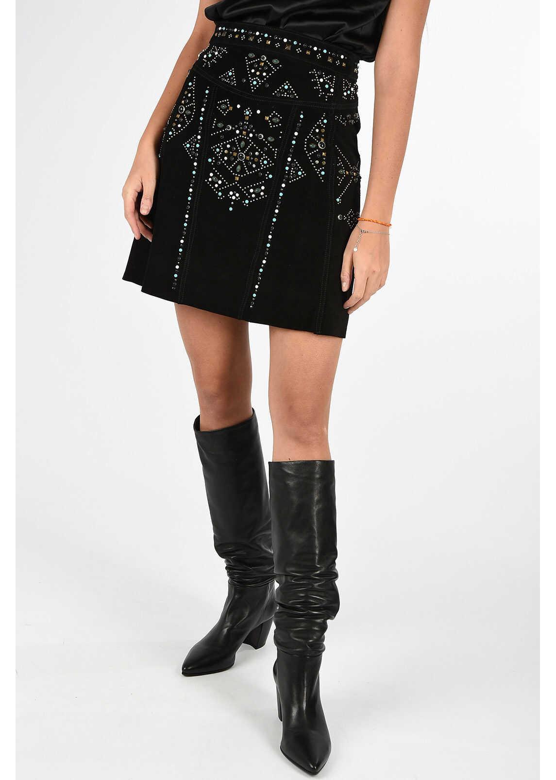 BLACK GOLD Studded OBORC Skirt thumbnail
