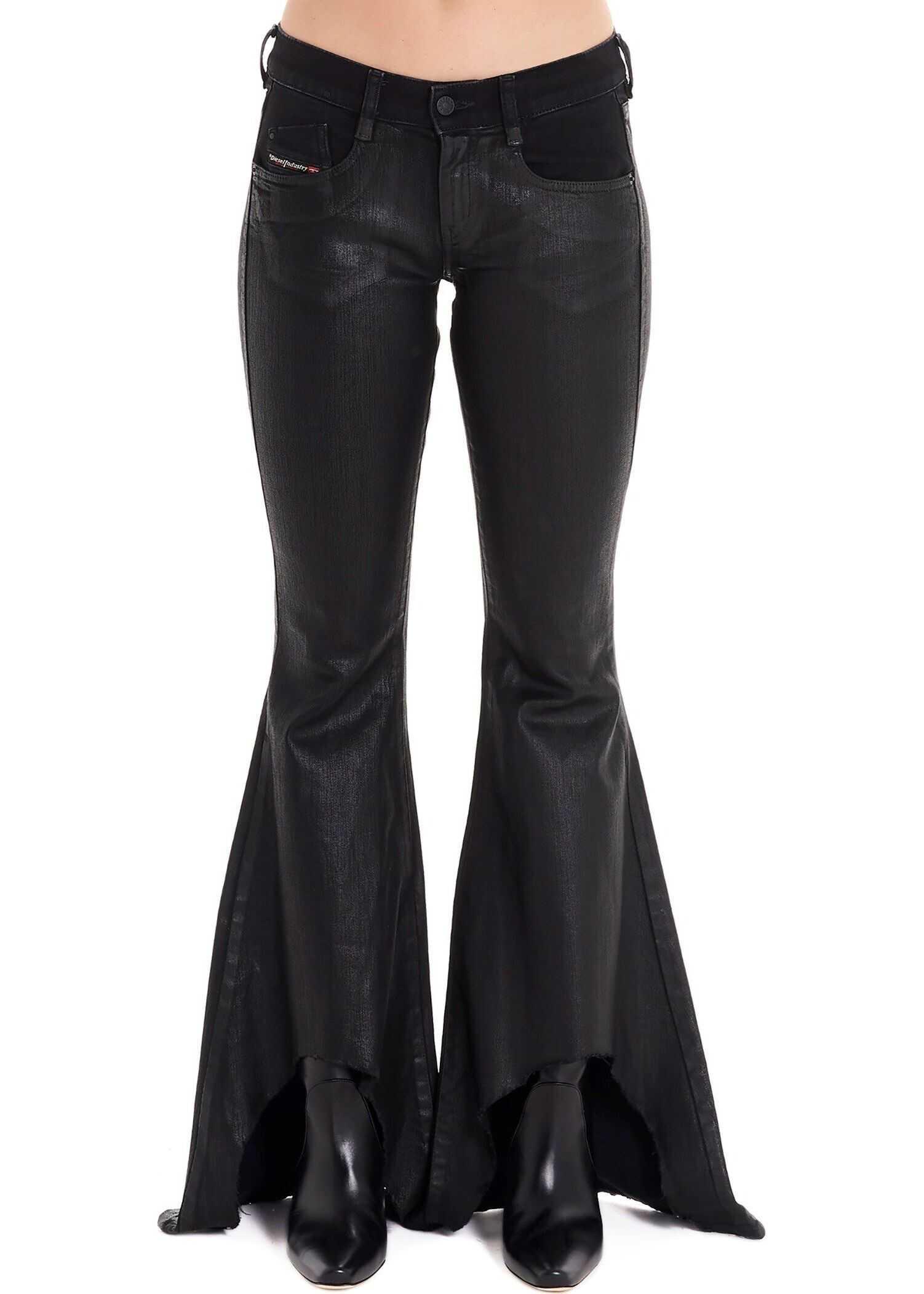Diesel Cotton Jeans BLACK