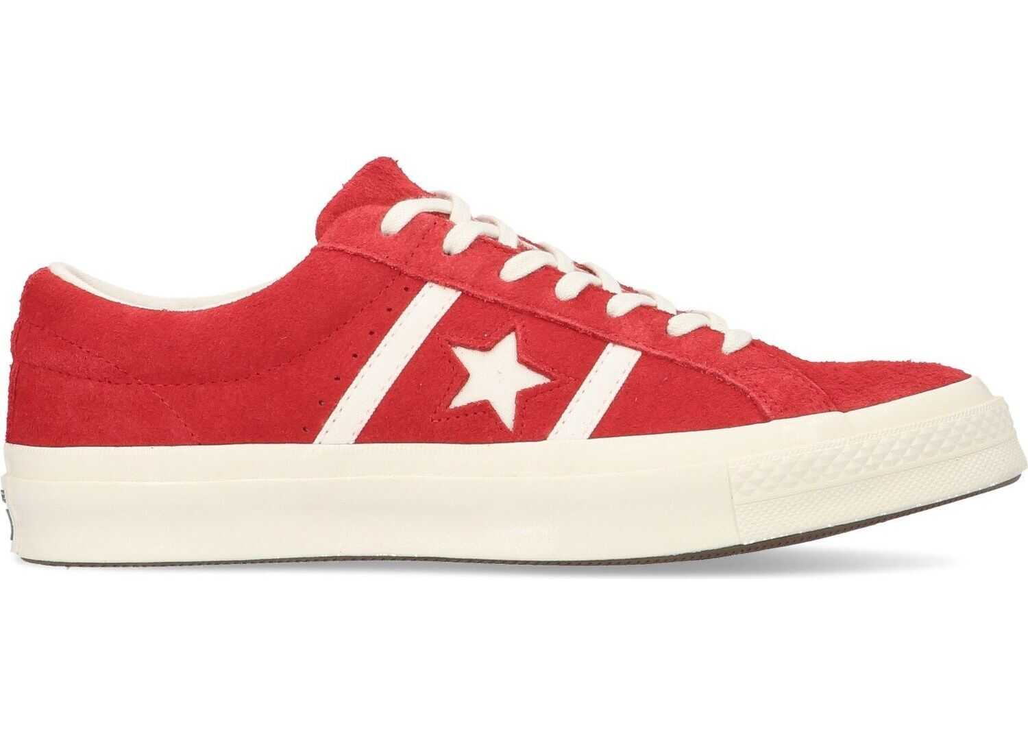Converse Leather Sneakers RED