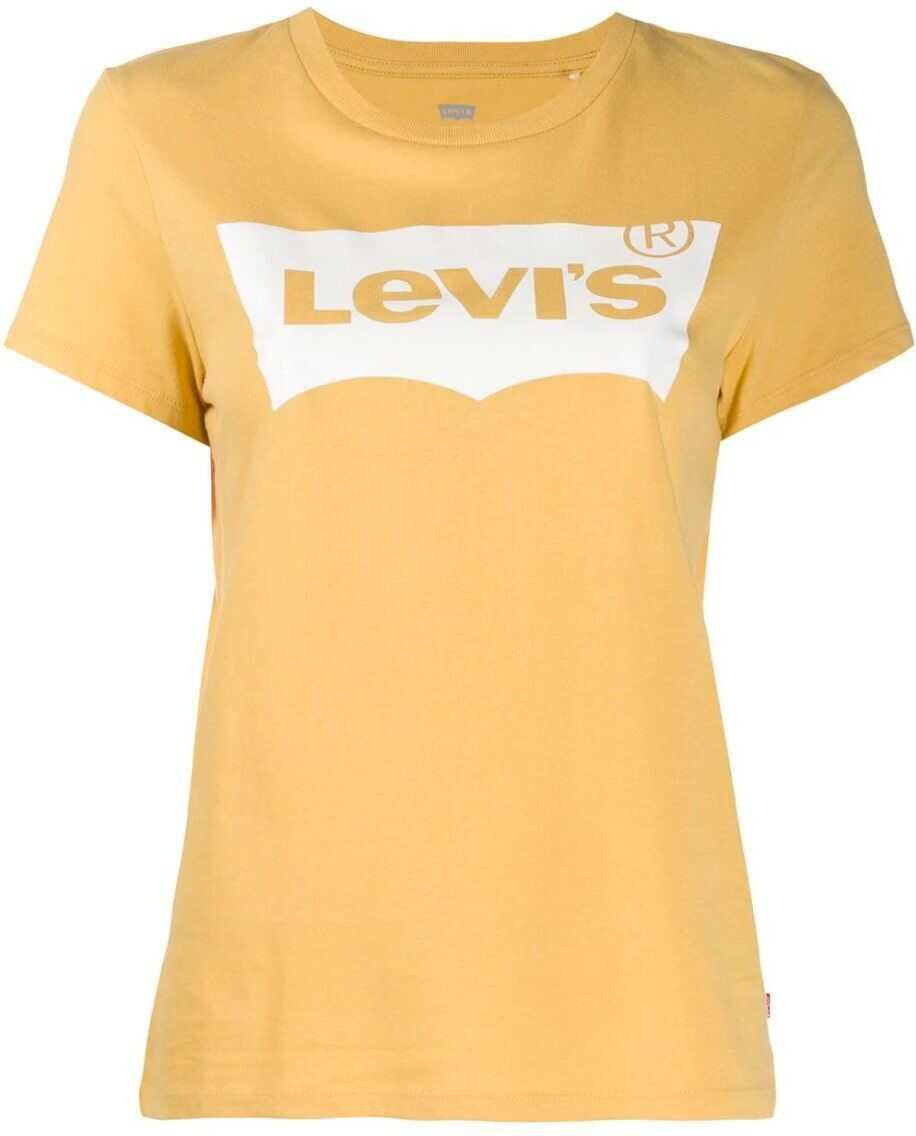 Levi`s® Cotton T-Shirt YELLOW