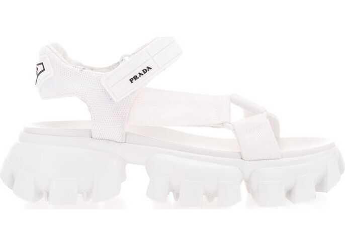 Prada Polyamide Sandals WHITE