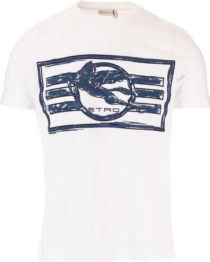 ETRO Cotton T-Shirt WHITE