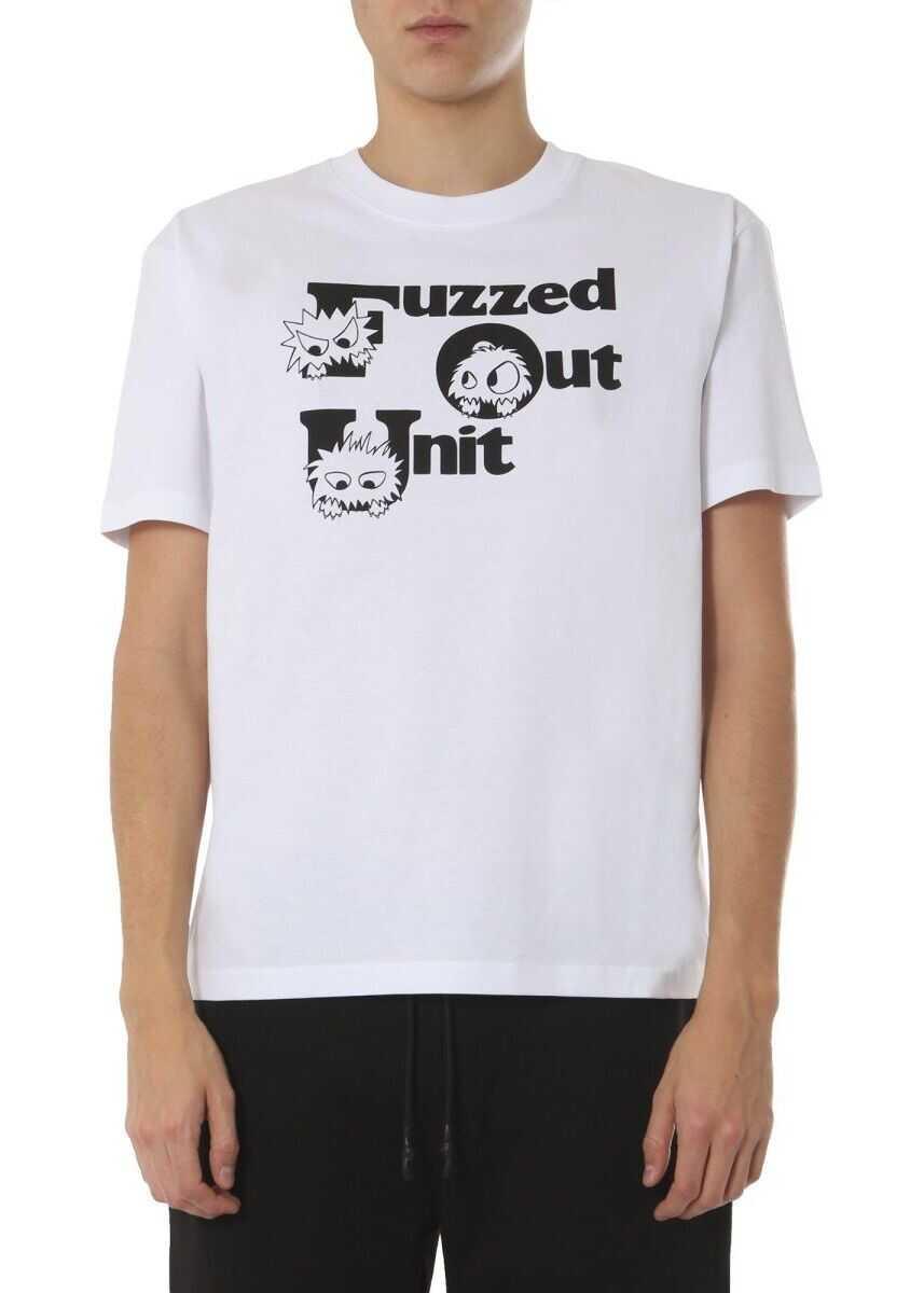 MCQ Alexander McQueen Cotton T-Shirt WHITE