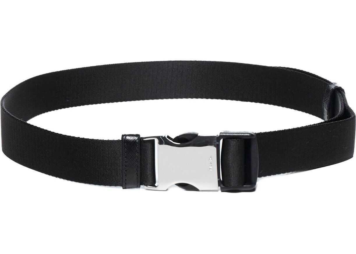 Prada Polyamide Belt BLACK