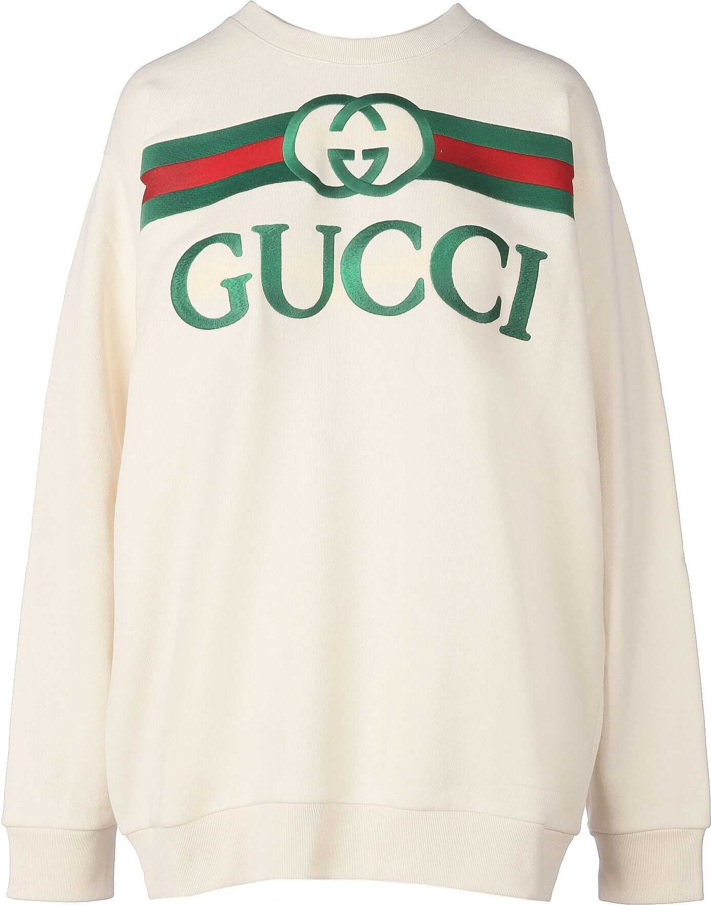 Gucci Cotton Sweatshirt WHITE