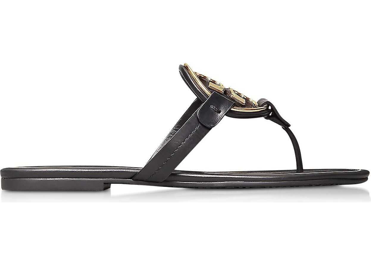 Tory Burch Leather Sandals BLACK