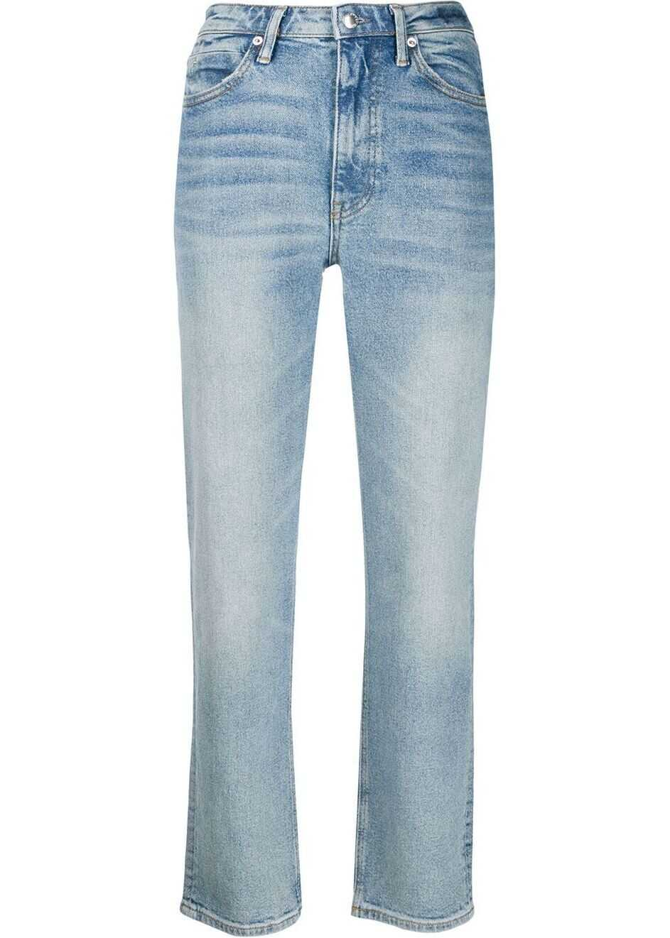 Alexander Wang Cotton Jeans LIGHT BLUE