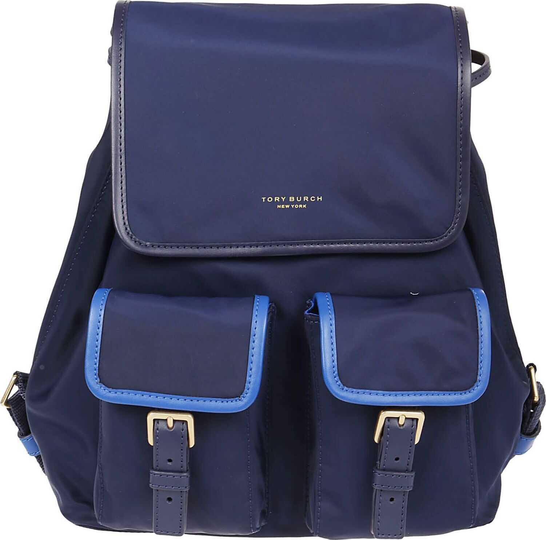 Tory Burch Nylon Backpack BLUE