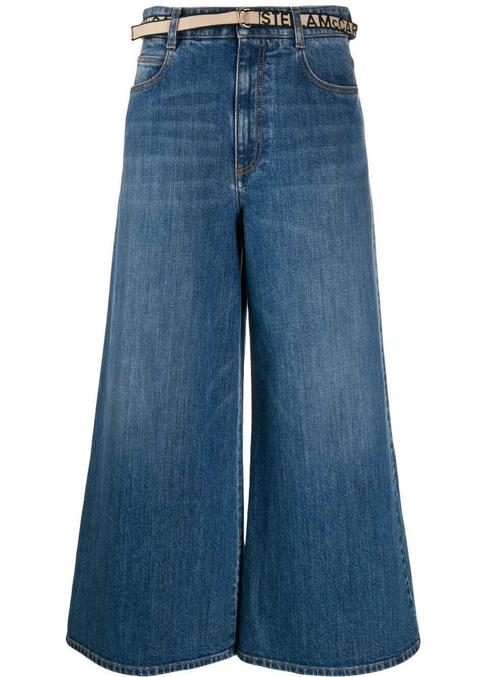adidas by Stella McCartney Cotton Jeans BLUE
