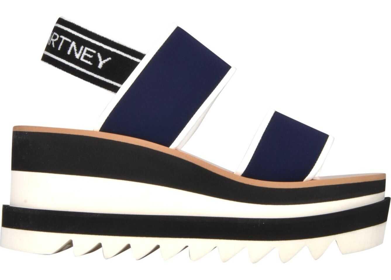 adidas by Stella McCartney Fabric Sandals BLUE