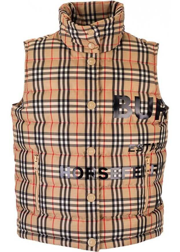 Burberry Polyester Vest BEIGE
