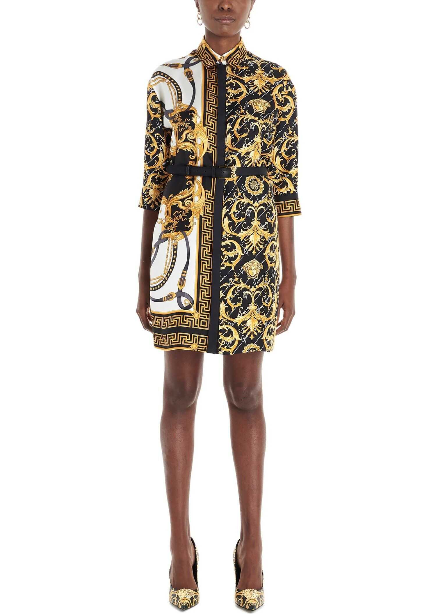 Versace Silk Dress MULTICOLOR