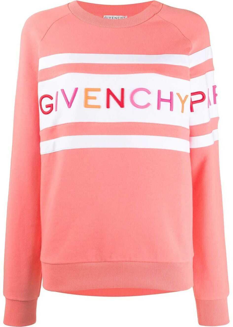 Givenchy Cotton Sweatshirt PINK