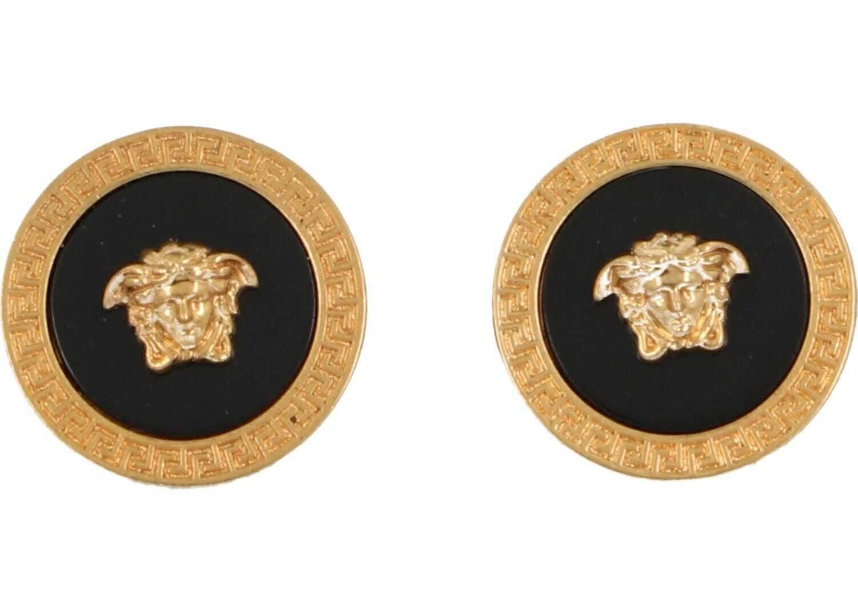 Versace Metal Cuff Links GOLD