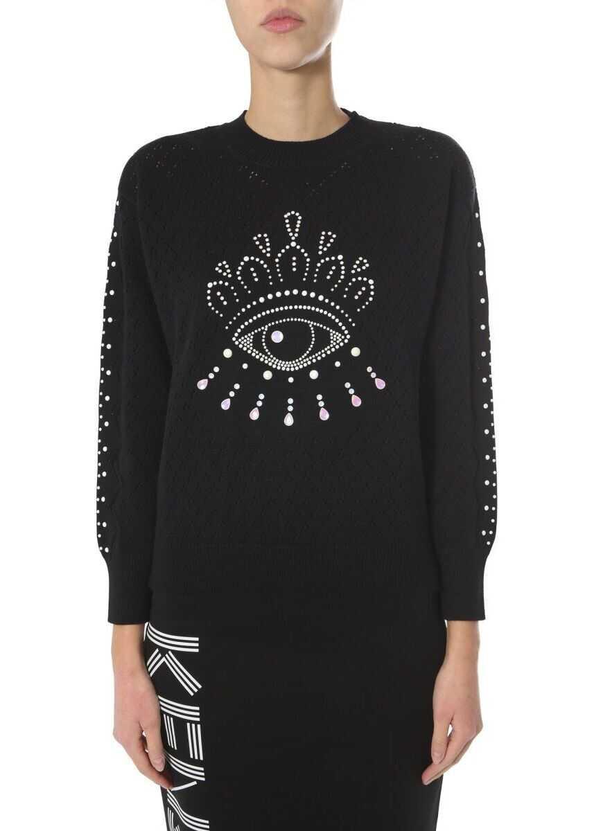 Kenzo Cotton Sweater BLACK