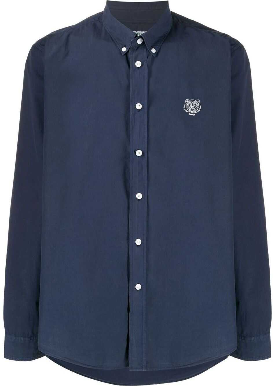 Kenzo Cotton Shirt BLUE