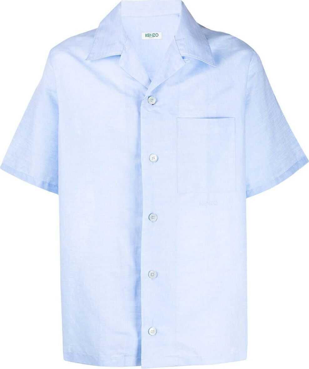 Kenzo Linen Shirt LIGHT BLUE
