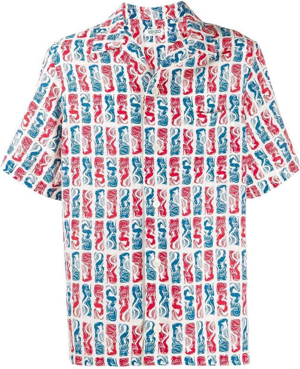 Kenzo Viscose Shirt MULTICOLOR