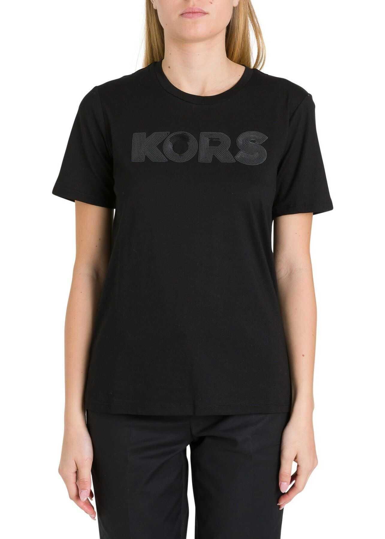 Michael Kors Cotton T-Shirt BLACK