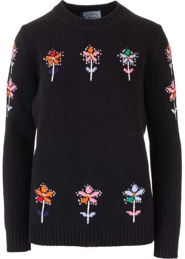 Prada Wool Sweater BLACK