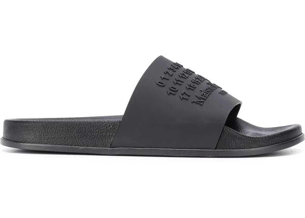 Maison Margiela Rubber Sandals BLACK