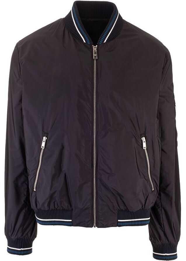 Prada Polyamide Outerwear Jacket BLACK