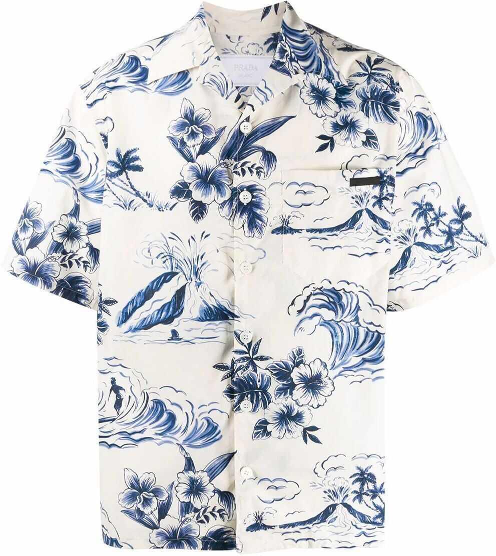 Prada Cotton Shirt MULTICOLOR